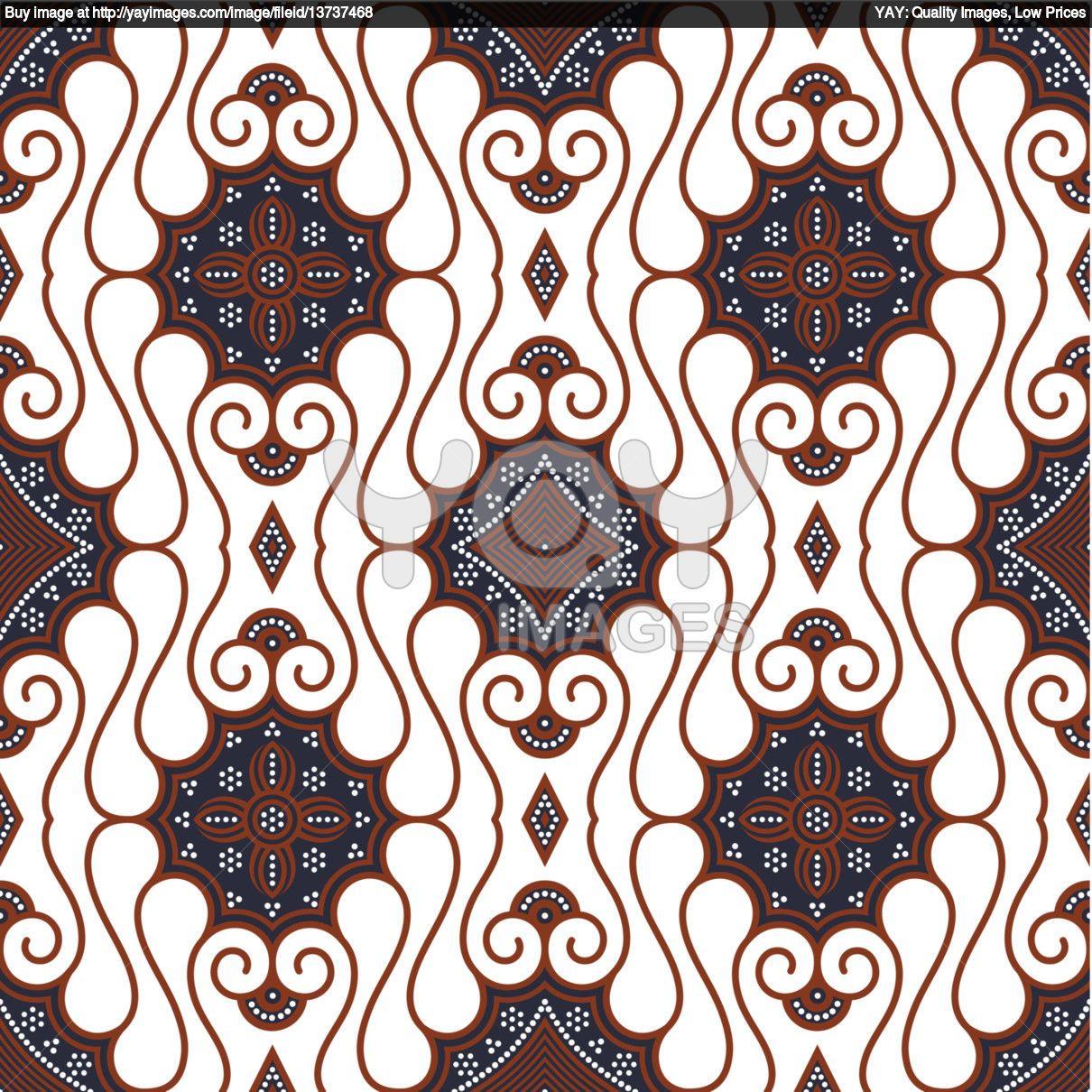 Motif Batik Bentuk Flora