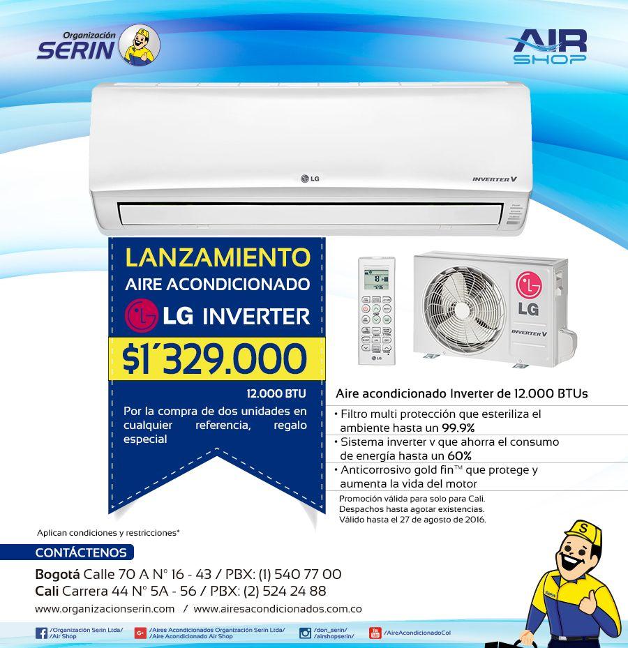 Lanzamiento LG Inverter Acondicionado, Aire