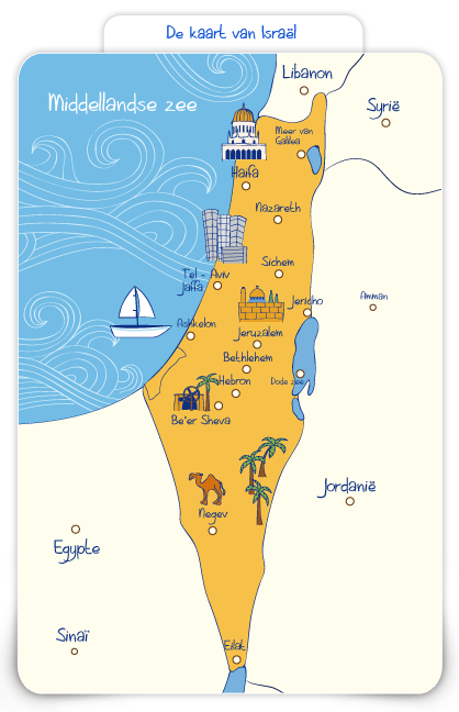Kaart Israel Bijbel Landkaart Israel Bible Crafts En Bible Lessons