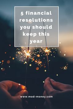 These are five easy money habits that will help you budget, save money, track your net worth, boost your credit score, and pay down debt this year! Set yourself up for financial independence by setting these resolutions for your best year yet.