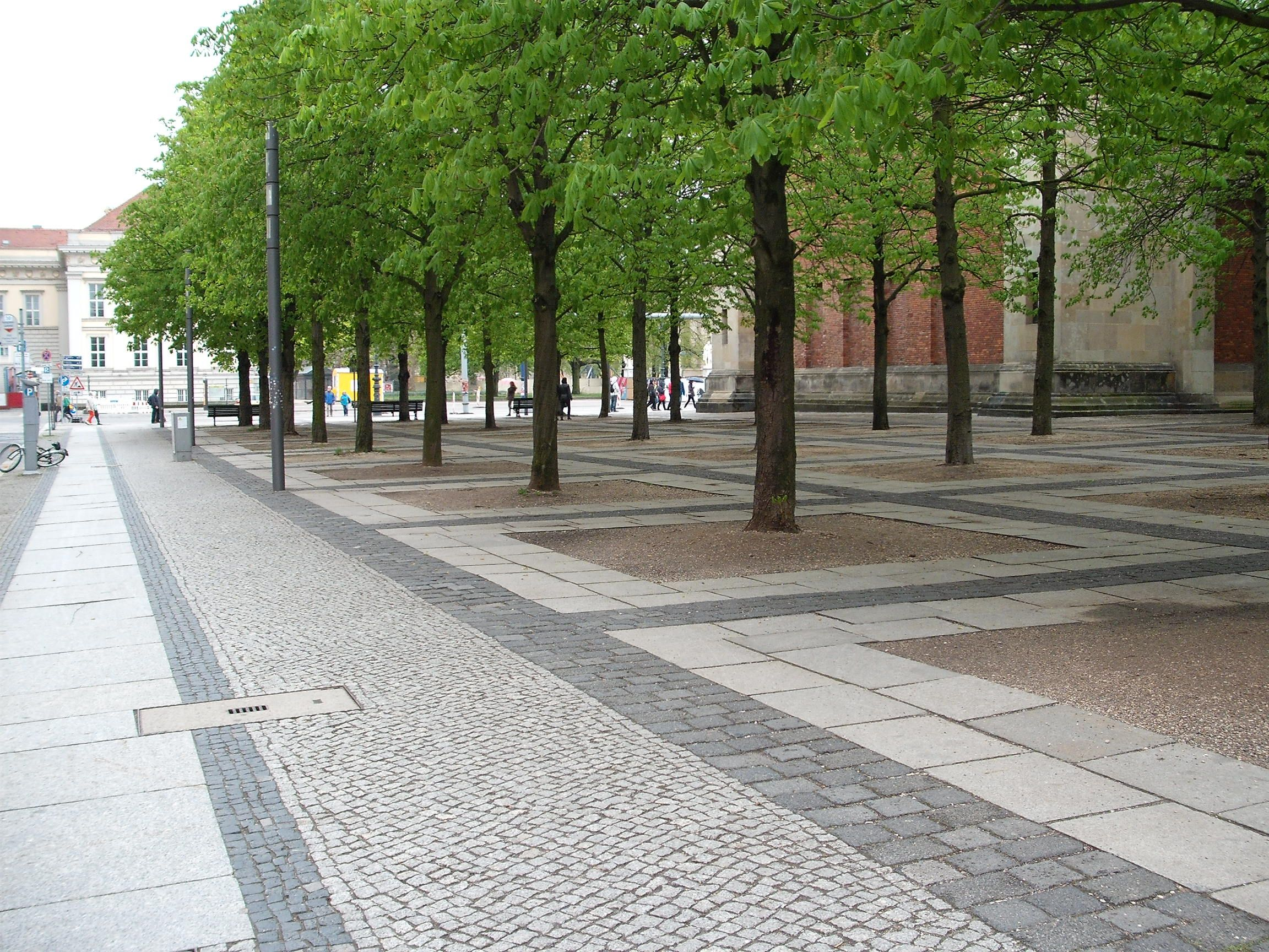 berlin pavement streetscape germany paving pinterest
