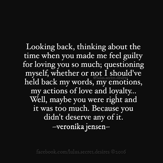 Veronika Jensen Lulus Secret Desires  E  A Love Quote Quotes Value