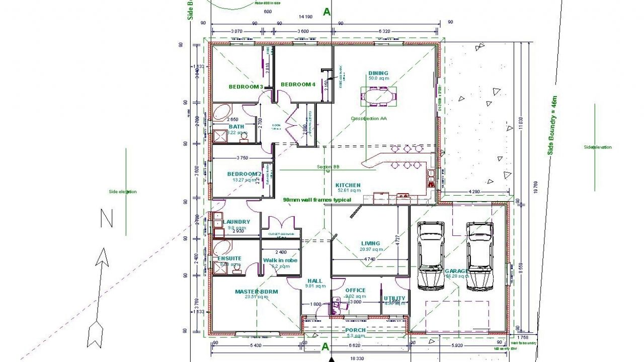 drawing samples autocad drawings floor plans houses plan with hammer ...