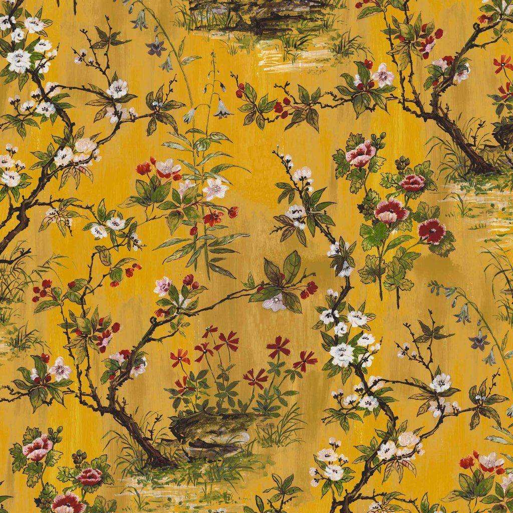 Rivington in Yellow Wallpaper Zen wallpaper, Victorian