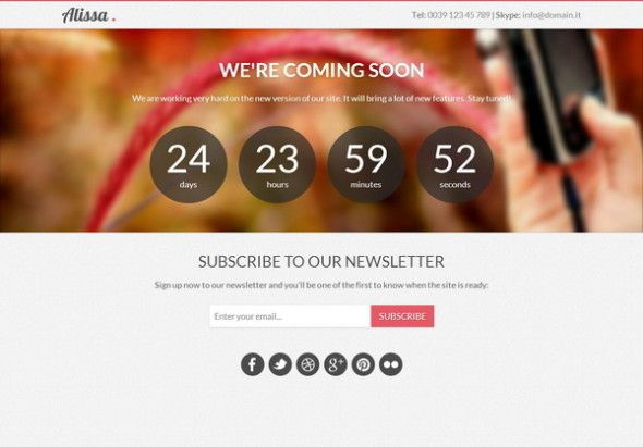 20 Free Website Under Construction And Coming Soon Page Blogger Templates Templates Free Blogger Templates