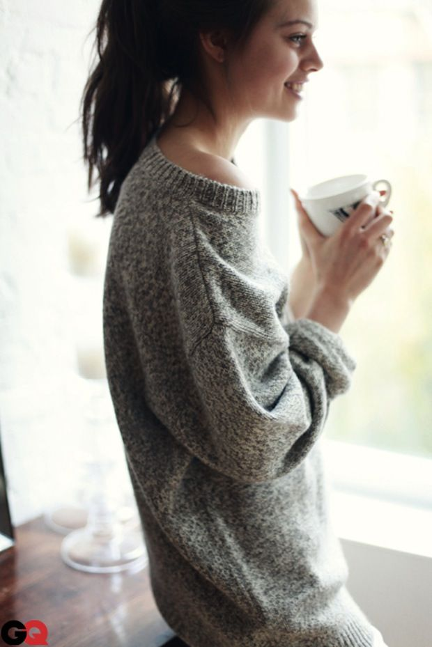 big comfy sweaters and coffee \u003d perfection
