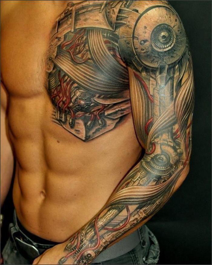 1001 Ideen Und Ispirationen Fur Ein Cooles Biomechanik Tattoo