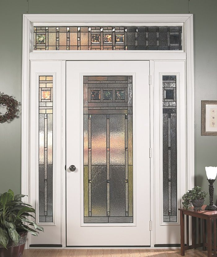 Vintage Craftsman Is Arts And Crafts At Its Purest Its Bold Geometric Patterns Will Communicate Decorative Door Glass Vintage Craftsman Craftsman Style Home