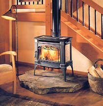 Captivating Best 20+ Freestanding Fireplace ... Inside Free Standing Wood Burning Fireplaces
