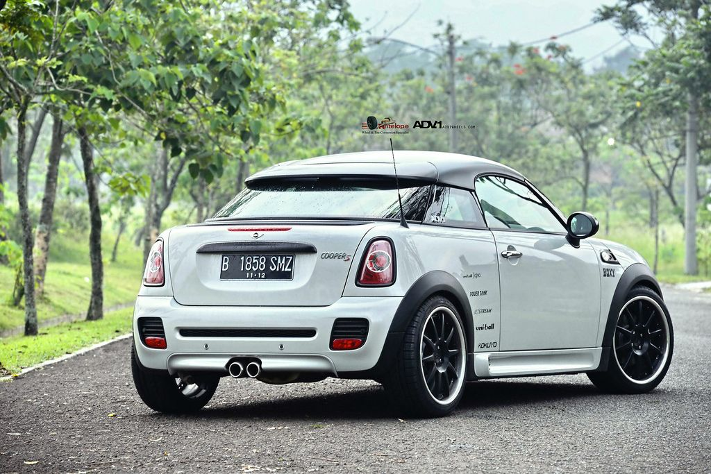 Mini Cooper S Coupé On Adv1 Adv10 S Function Wheels Automotive