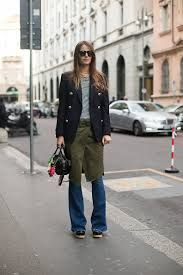 dresses over trousers street style - Google Search