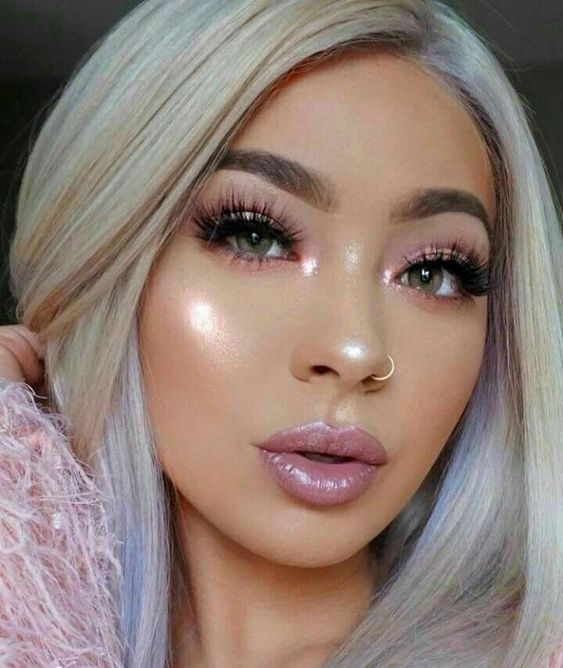 11 Pretty Winter Make Up For End Of Year Cool And Sexy