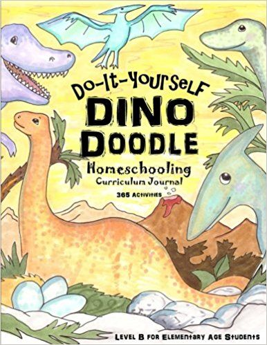 Dino doodle do it yourself homeschooling curriculum journal 365 dino doodle do it yourself homeschooling curriculum journal 365 fun solutioingenieria Image collections
