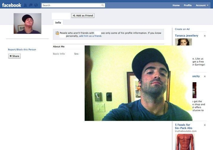 Funny about me for facebook profile