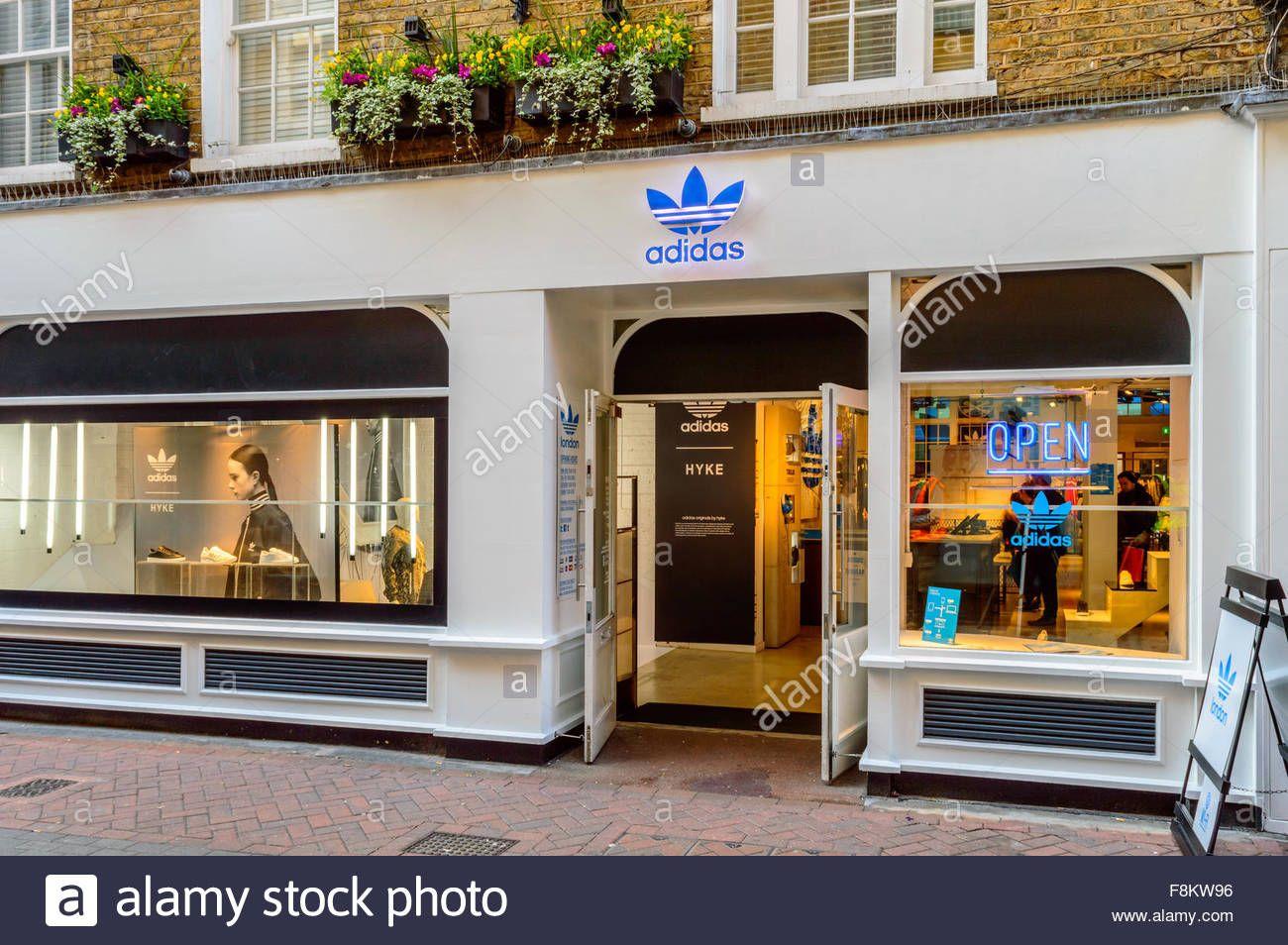 Adidas Originals London store