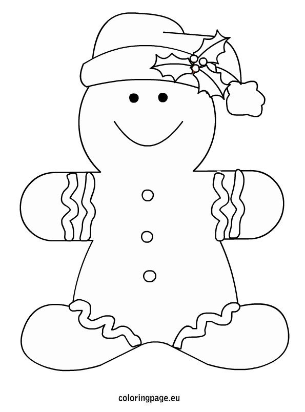 Christmas Gingerbread Men Coloring Page Gingerbread Man Coloring Page Free Christmas Coloring Pages Christmas Gingerbread Men
