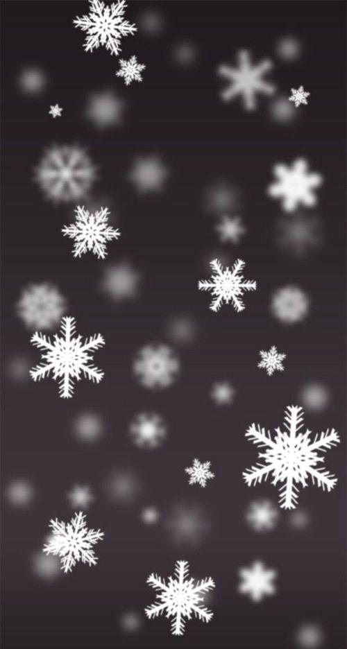 Imagem De Snow Winter And Christmas Wallpaper Iphone Christmas Snowflake Wallpaper Xmas Wallpaper