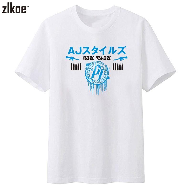 Bullet Club The NJPW New Japan Pro Wrestling AJ Styles T-Shirt ...
