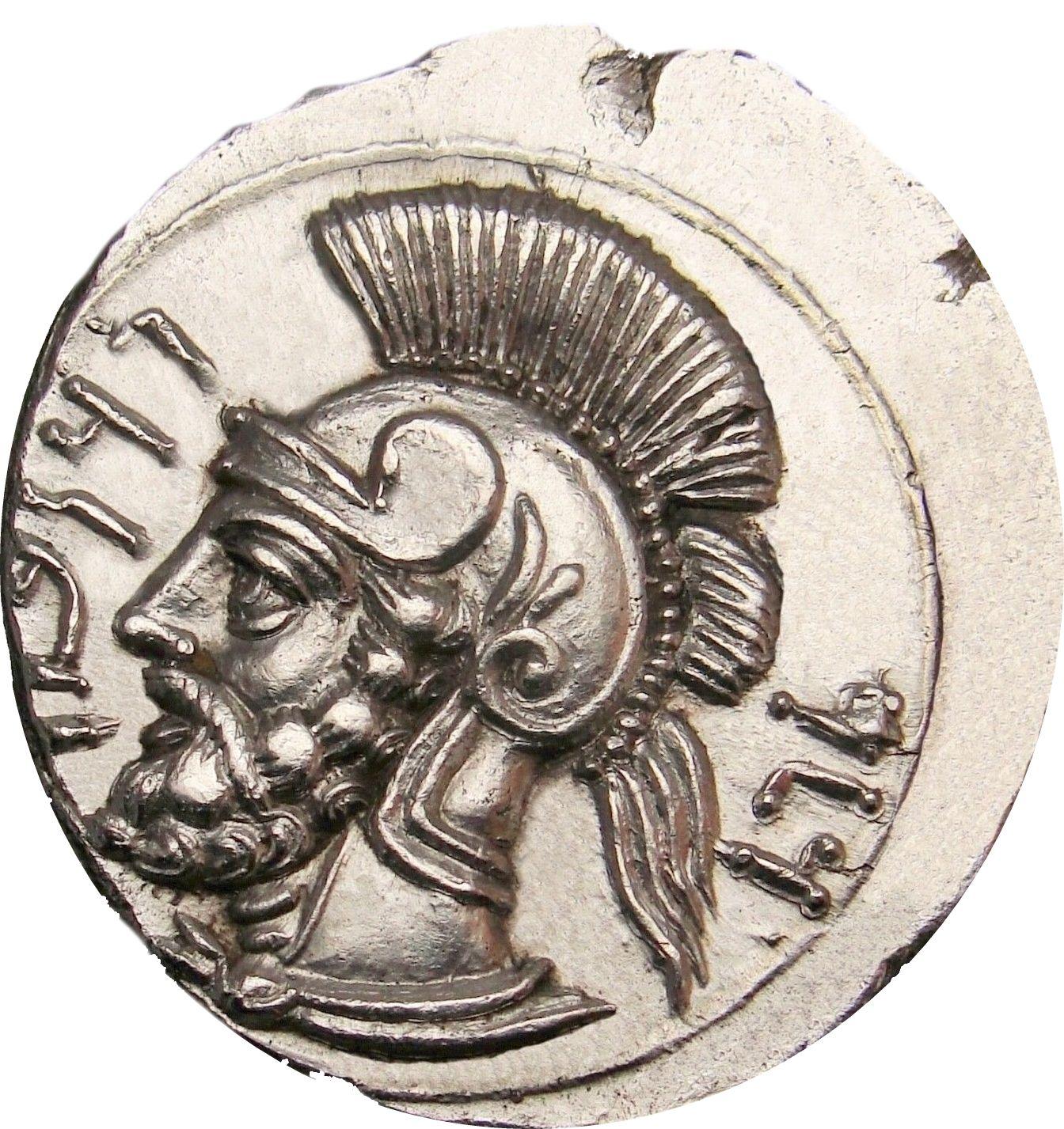 VENI VIDI VICI Men's TShirt Julius Caesar Coin art