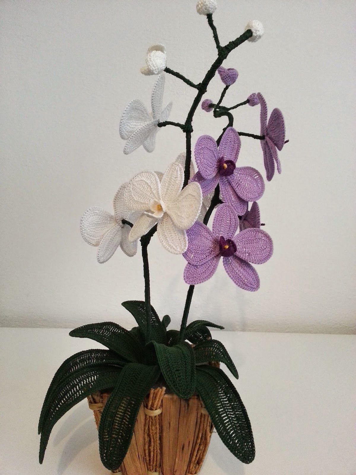 Il Blog Di Sam Spiegazione Dell Orchidea All Uncinetto Fiori
