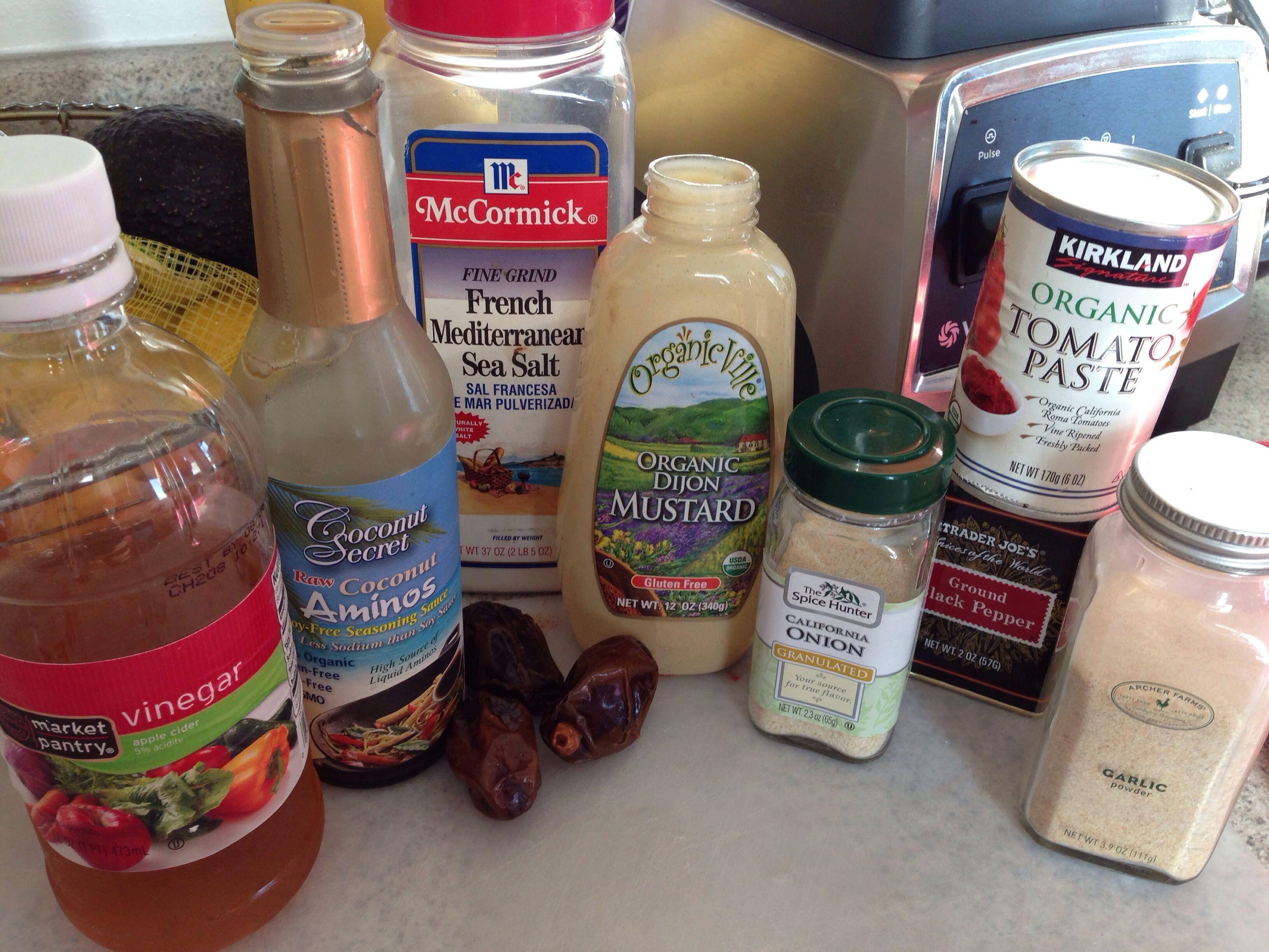 Easy and delicious DIY BBQ sauce + Vitamix Giveaway Diy