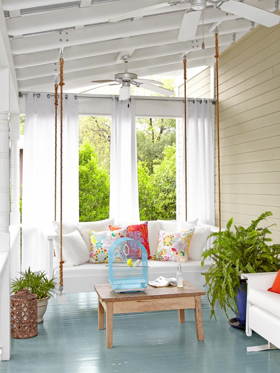 Outside window treatment ideas  window treatments arenut only for indoor rooms hgtv magazine