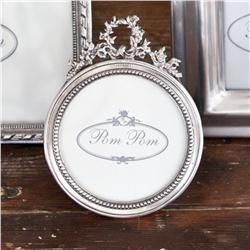 Buy Laurel Round Picture Frame online with free shipping from thegardengates.com