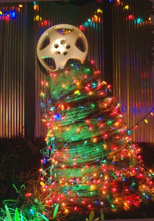 Redneck Christmas Lights.Pin On Upcycle Recycle Repurpose