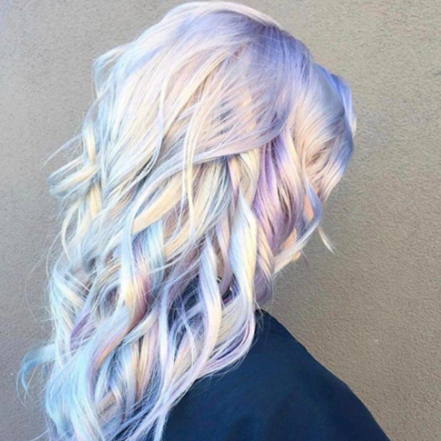 Holographic Hair Is The Fairidescent Dye Trend Weve Been Waiting