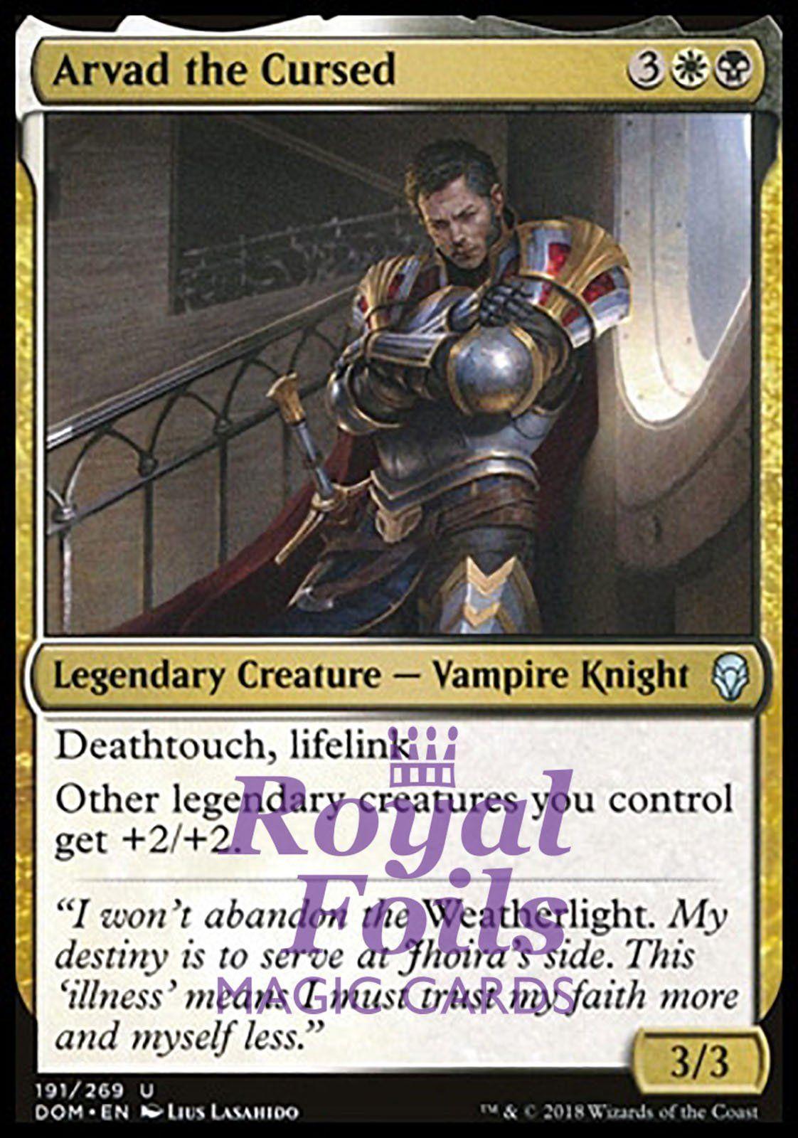 MtG Magic the Gathering Dominaria b//w Knight Deck
