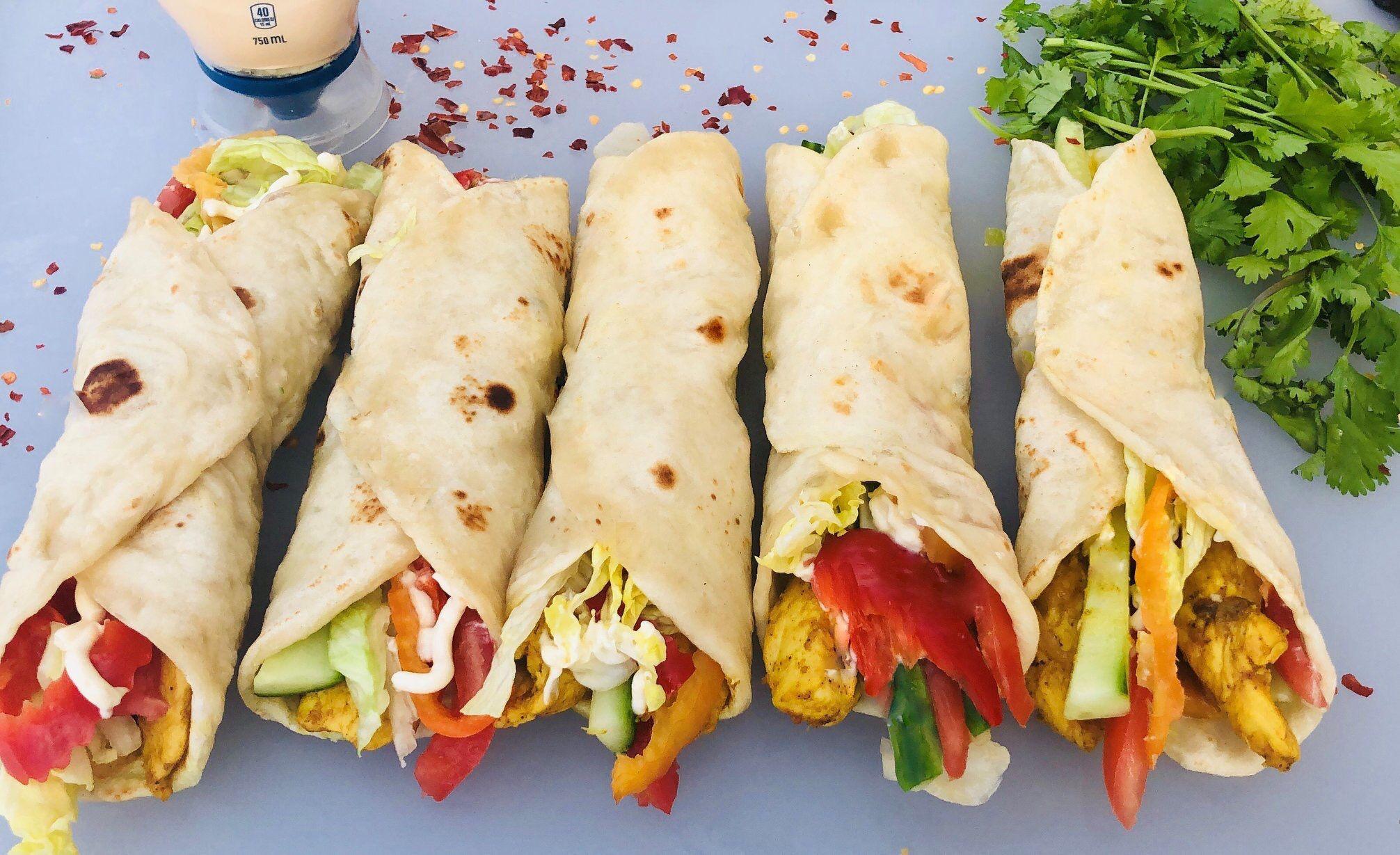 Recipe By Mazar Cuisine Youtube Channel Homemade Tortilla Recipe