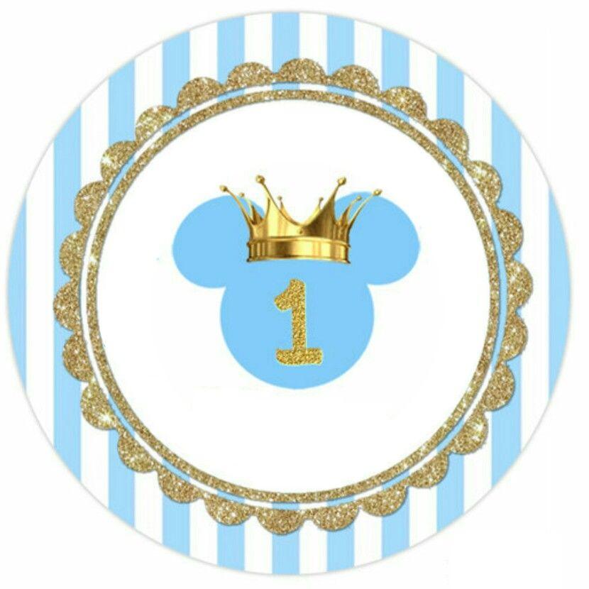 Mickey Principe Mickey Mouse De Bebé Mickey 1er