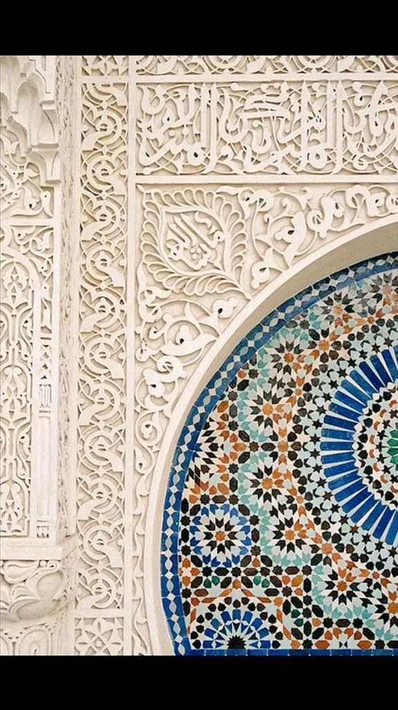 Detail of Alhambra Palace, Spain Reconstructed by Mohammed ben Al-Ahmar, a moorish emir, mid 11th Cent. #architecture