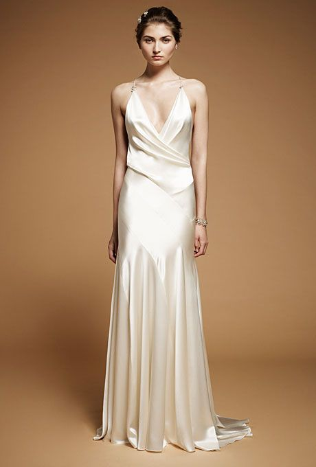 Jenny Packham - Fall 2012 | Jenny packham, Silk satin and Hollywood ...