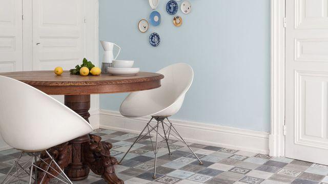 10 sols imitation carreaux de ciment my home sweet home pinterest tuile - Carreaux ciment prix ...