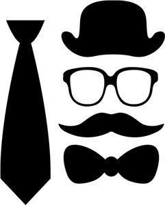 das bril snor hoed