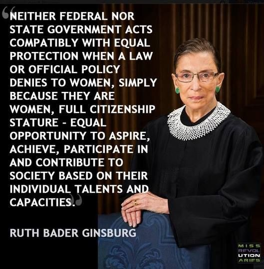 Miss R Evolutionaries S Photos Miss R Evolutionaries Facebook Ruth Bader Ginsburg Quotes Quotes To Live By Notorious Rbg