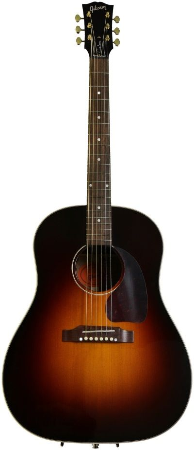 Review Gibson J 45 Purevoice Custom Acoustic Electric Guitar Gear