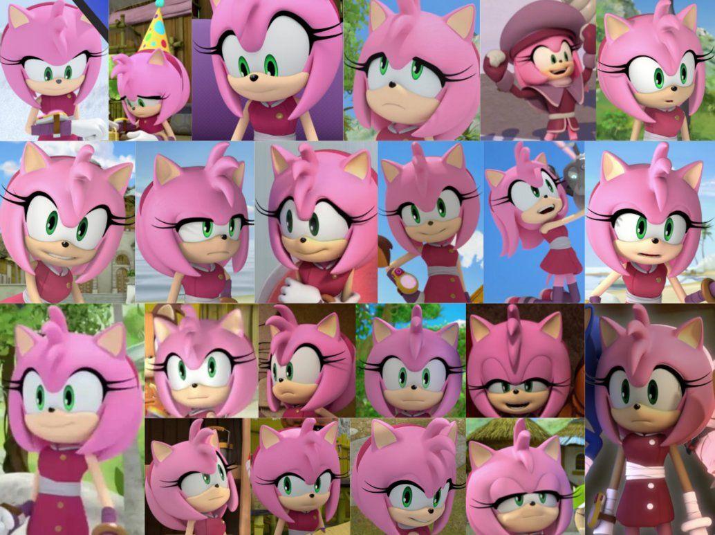 Boom Amy Collage 2 By Sonicboomgirl23 Shadow El Erizo Erizos