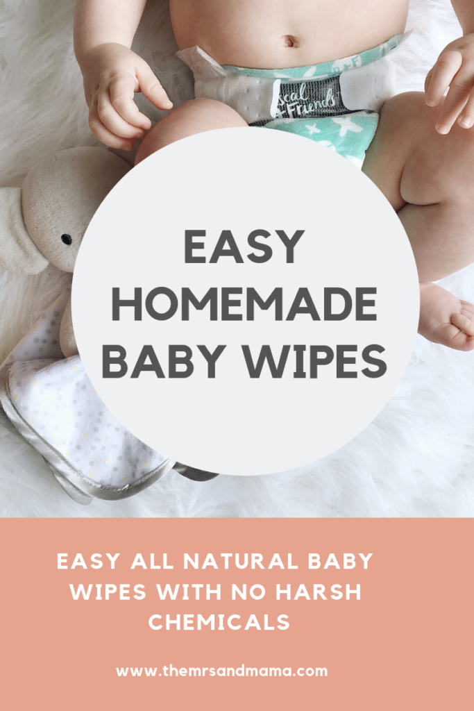 Easy Homemade Baby Wipes + Update Homemade baby wipes