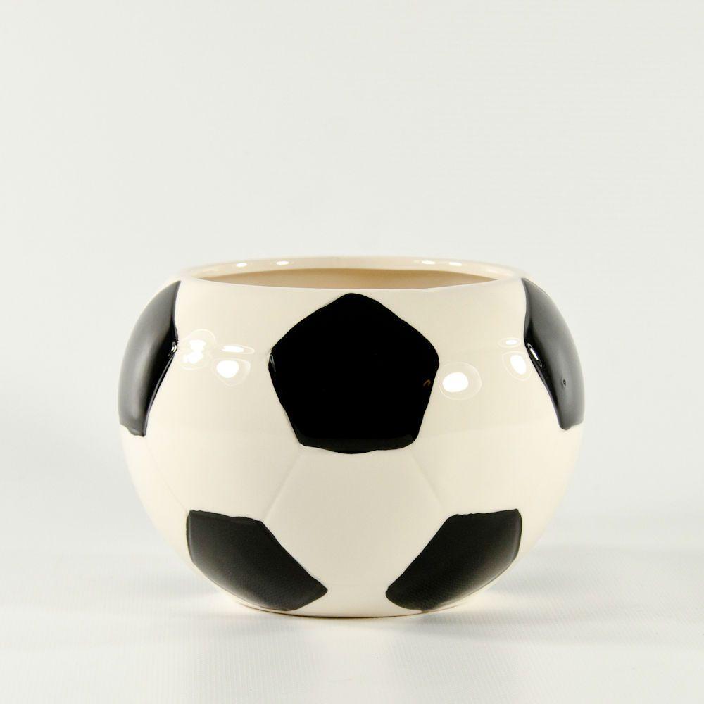 """Soccer Wedding Ideas: 4"""" Ceramic Soccer Vase In 2019"""