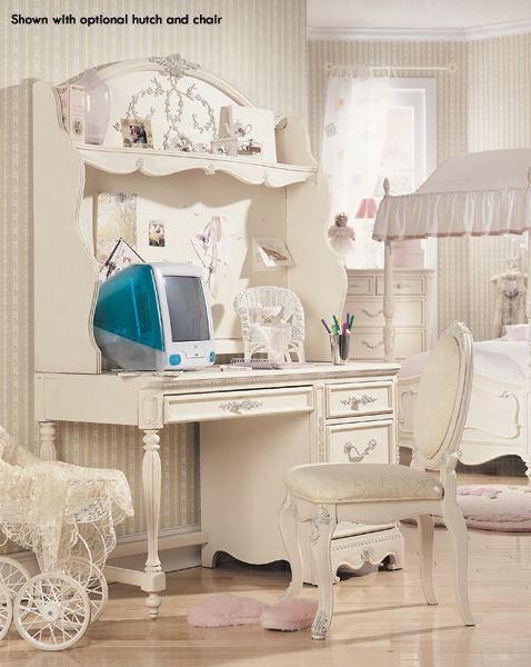 Lea Jessica Mcclintock Student Desk In Antique White 915 00