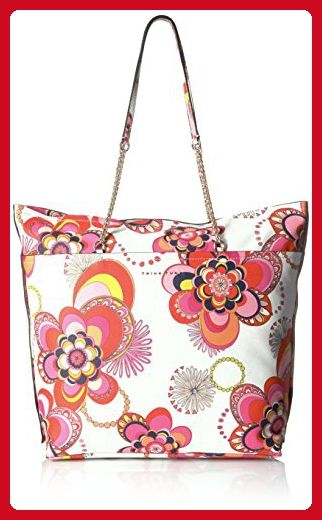 Trina Turk Mariposa Fl Maddox Tote White Shoulder Bags Partner