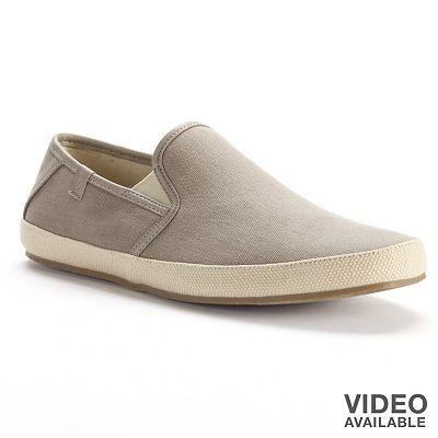 Marc Anthony shoes. | Canvas slip on