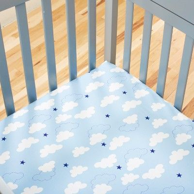Carter S Take Flight Airplane 100 Cotton Fitted Crib Sheet Size