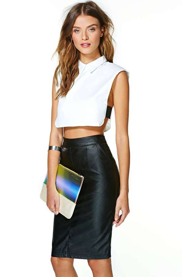 250db29f84 White Cropped Top by Nasty Gal. Buy for  48 from Nasty Gal