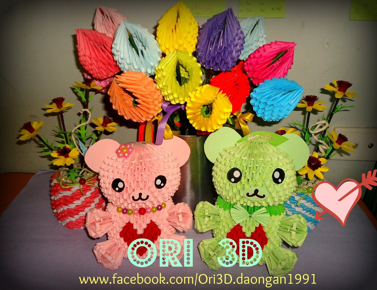 3D Origami Teddy Bear Tutorial - Part 1 – Видео Dailymotion | 1230x1600
