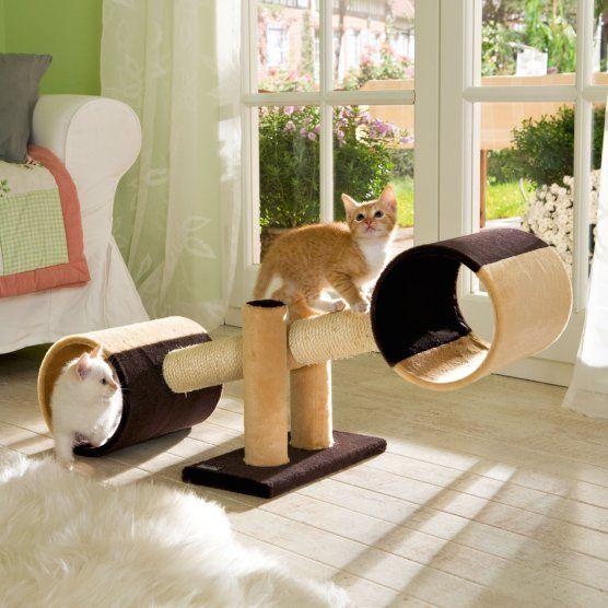 cat see saw omfg the babies would love this hanna basteln katzen katzen spielplatz. Black Bedroom Furniture Sets. Home Design Ideas