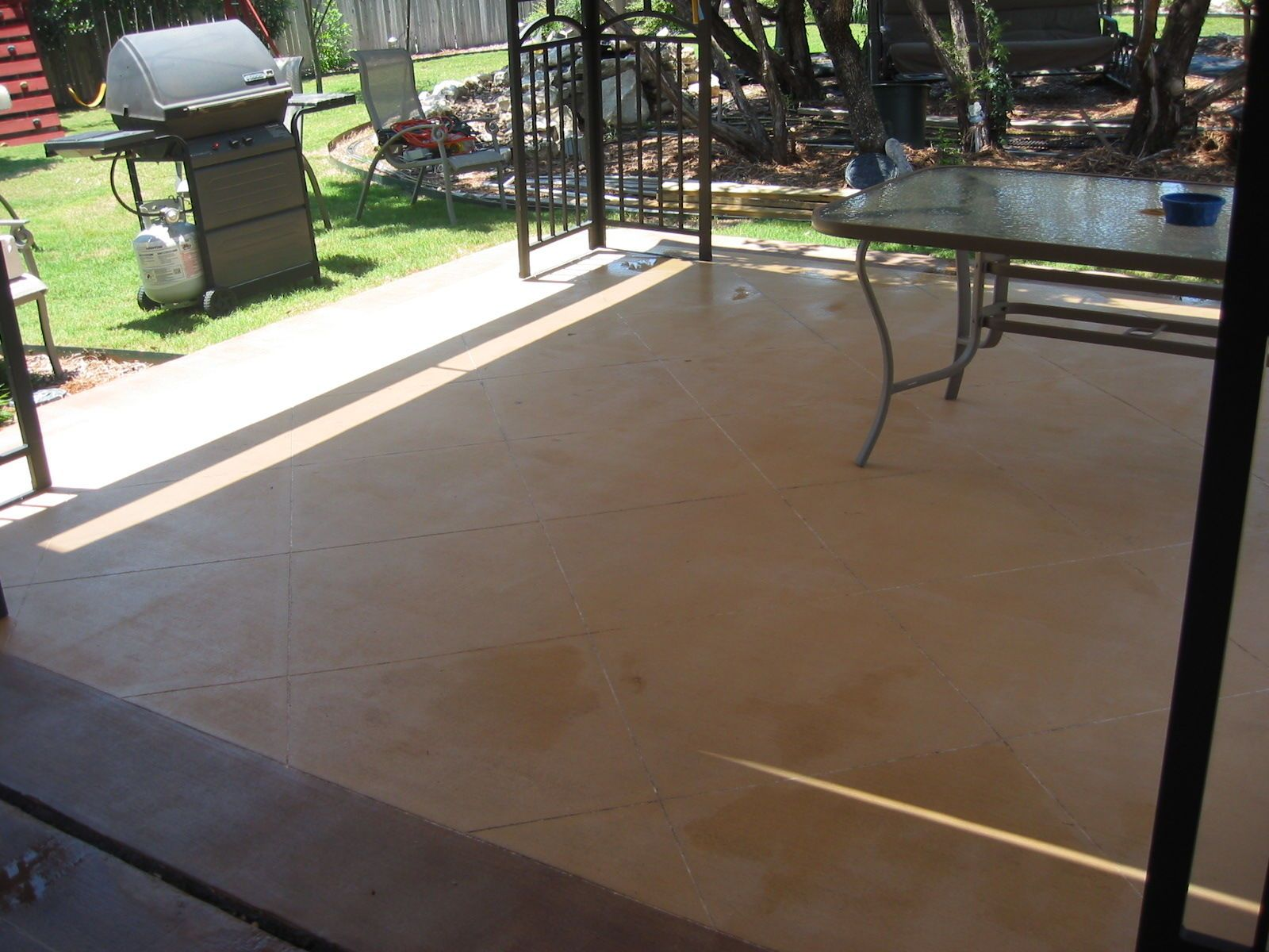 Related image (With images) Behr concrete stain, Stained