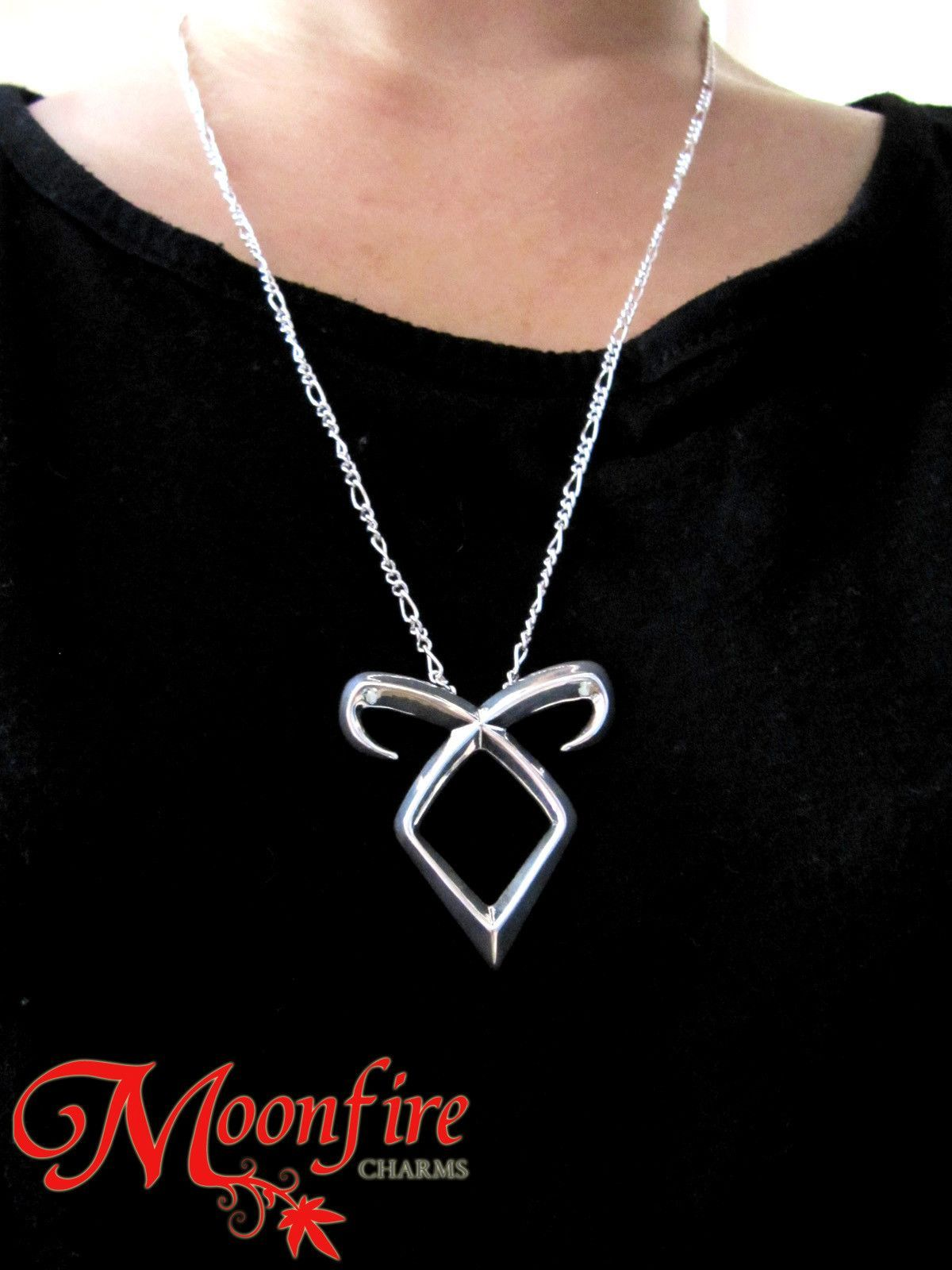 Mortal Instruments City of Bones - Angelic Power Necklace Pendant Power Rune SHADOWHUNTER Clary Fray 3ZGX2WiFw